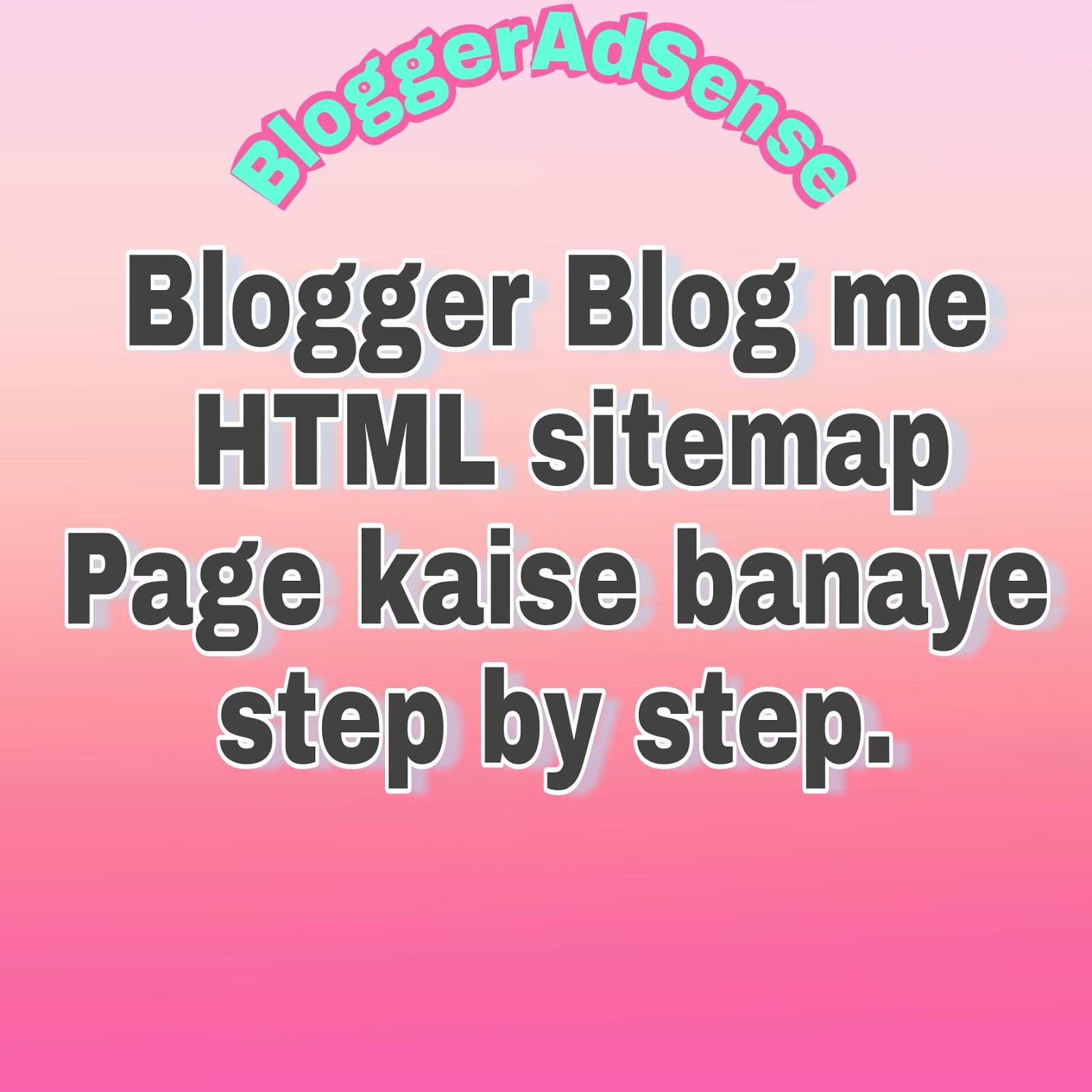 Create-html-sitemap-in-blogger
