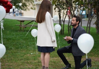 Pilot o cere în căsătorie pe Duygu, aleasa inimii sale !
