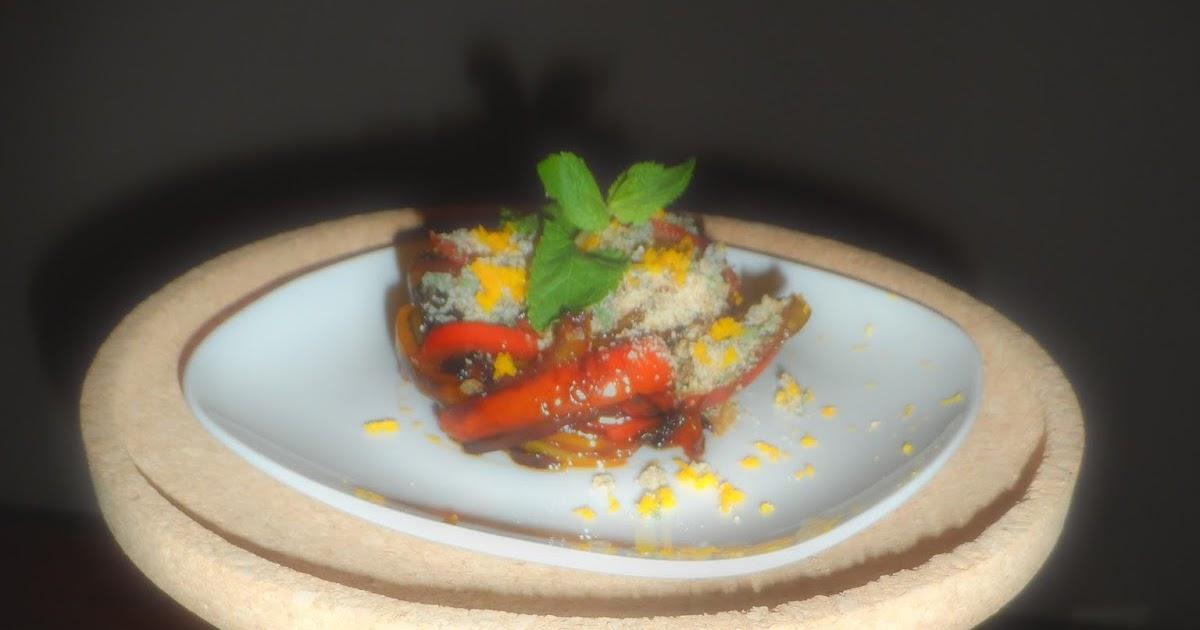 Peperoni di ispirazione siciliana alla polvere di arancia anche gluten free