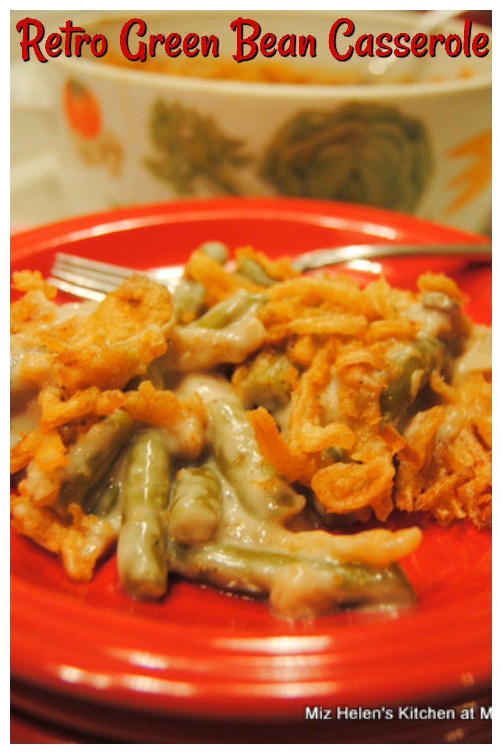 Retro Green Bean Casserole