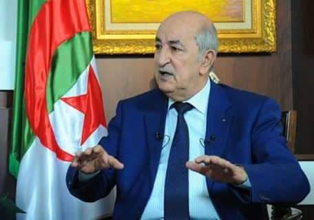 الرئيس الجزائري عبد المجيد تبون في الحجر الصحي لمدة خمسة أيام خشية كورونا
