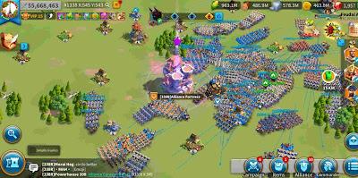 rise of kingdoms menambah troops baru