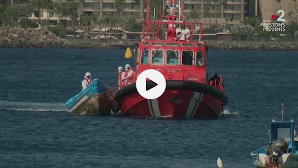 Migrants : la traversée en direction des îles Canaries