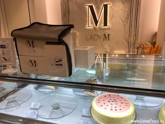 台北中山-LADY M 台北晶華酒店-高貴的千層蛋糕 一片$250起