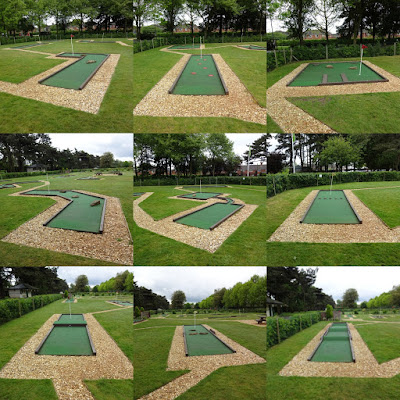 Eaton Park Crazy Golf in Norwich (May 2017)