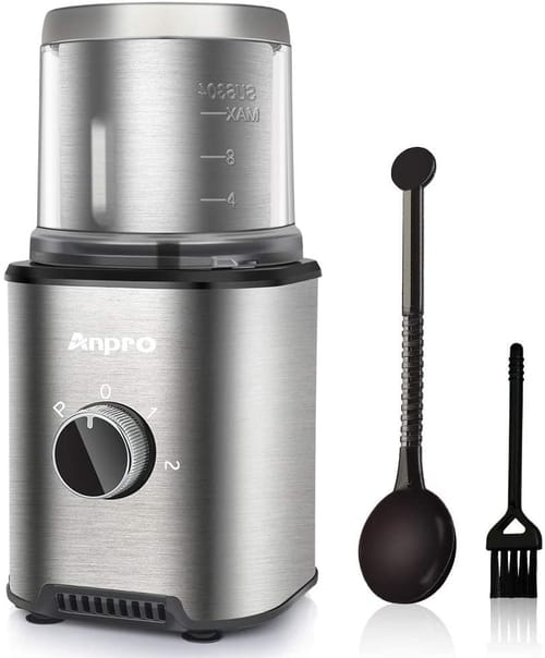Anpro Electric 300W Automatic Coffee Grinder