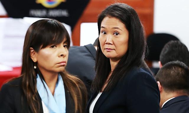 Giulliana Loza, abogada de Keiko Fujimori