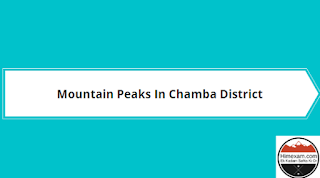 Mountain Peaks In Chamba District