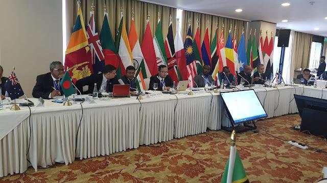 Bakamla RI-IDNCG Bahas Kamlamla Kawasan Samudera Hindia di Colombo