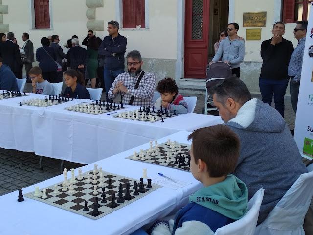 Σκακιστικοί αγώνες στα πλαίσια του Παλαμηδείου Άθλου στο Ναύπλιο