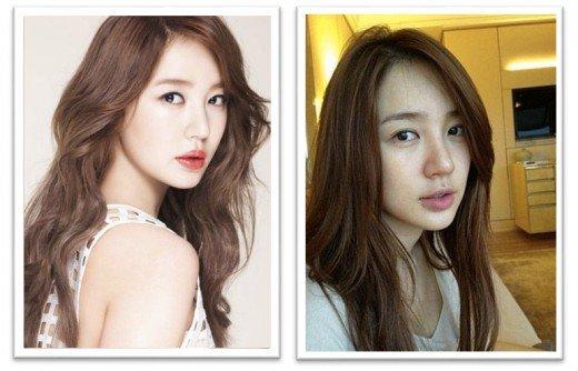 10 Aktris Korea Paling Cantik Tanpa Makeup