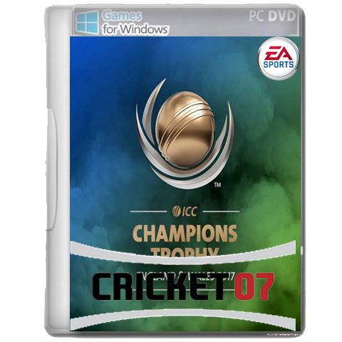 ICC Champions Trophy Patch 2017 For EA Sports Cricket 2007