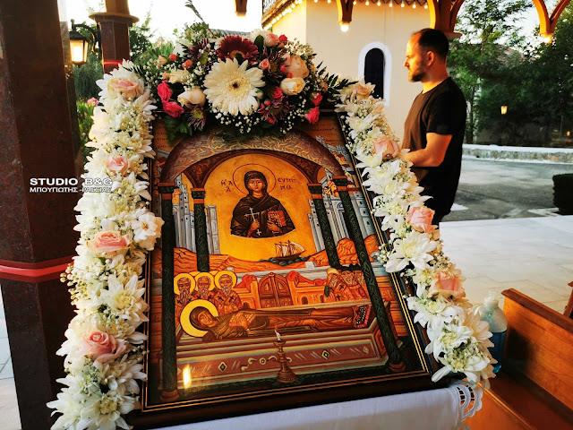 Η εορτή της Αγίας Ευφημία στο Ναύπλιο