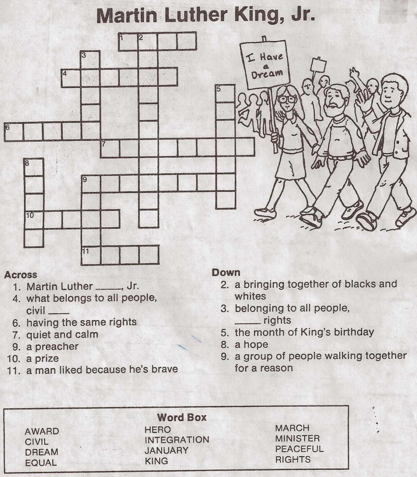 Elementary School Enrichment Activities Martin Luther