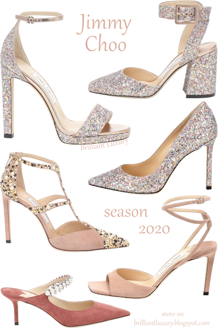 Jimmy Choo new shoes fall 2020 #brilliantluxury