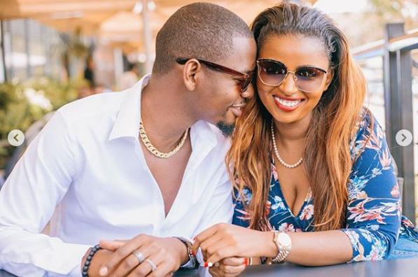 Keroche heiress Anerlisa Muigai and her Tanzanian fiancé Ben Pol  photos