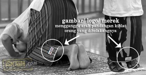 Gambar Logo Pada Sarung Shalat Gimana Hukumnya?