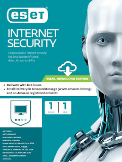 ESET Internet Security - 3 Devices, 1 Year (Email Delivery in 2 Hours- No CD