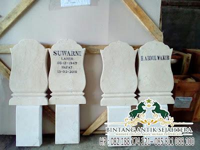 Harga Batu Nisan Surabaya, Harga Nisan Marmer Modern, Batu Nisan Marmer Tulungagung