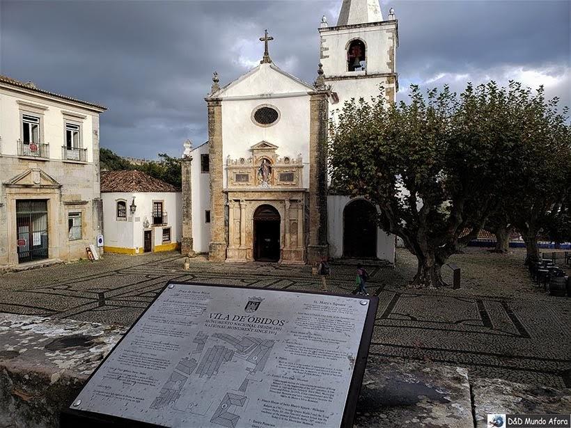 Igreja Matriz de Santa Maria  - O que fazer em Óbidos