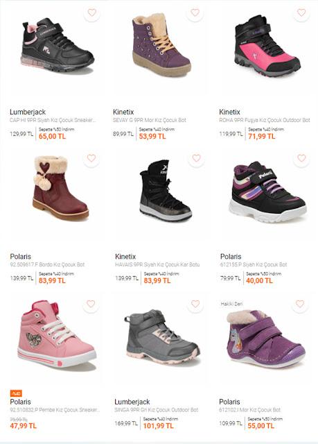 تخفيضات ماركة FLO للأحذية البناتية 2021