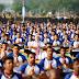 योग दिवस : प्रधानमंत्री के साथ 50 हजार लोगो ने किया योग... देखे
