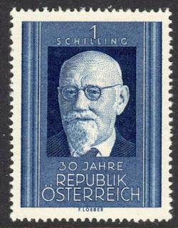 Austria - Karl Renner  1948