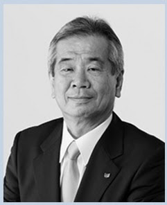 Masaya Maeda sebagai Presiden dan COO Canon Inc pada tahun 2016
