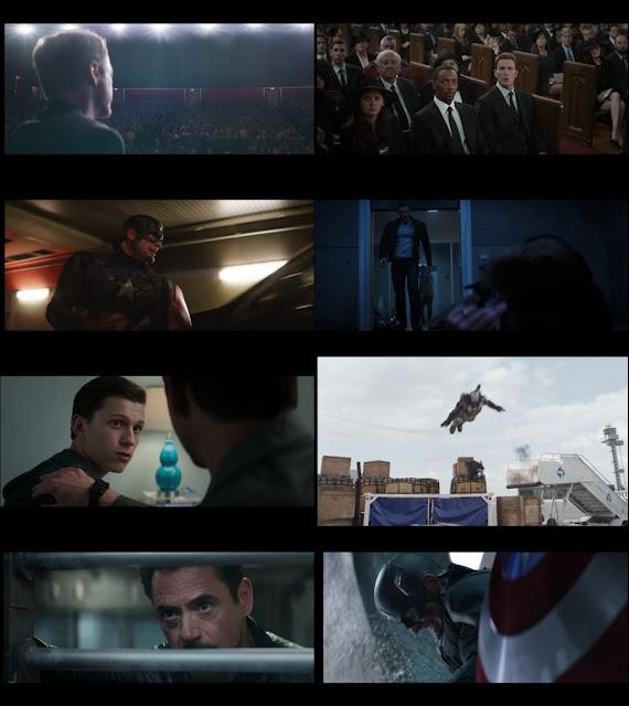 Captain America: Civil War 2016 Dual Audio ORG 1080p BluRay