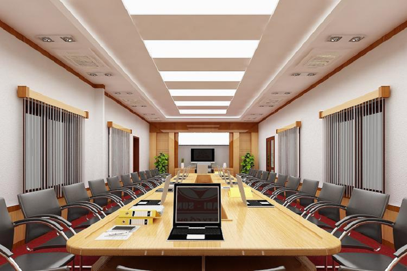 Kinh nghiệm thiết kế nội thất phòng họp hiện đại