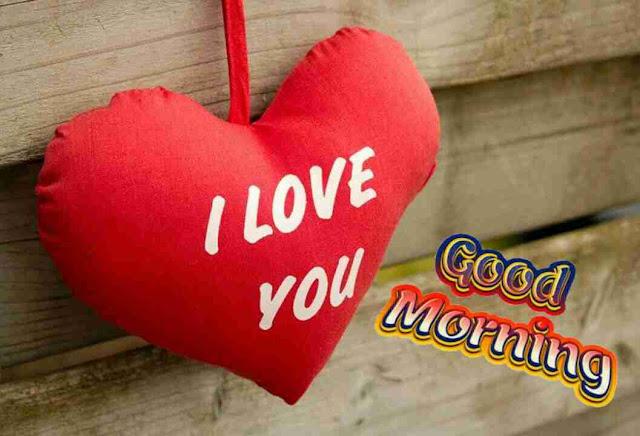 beautiful good morning image of i love you heart