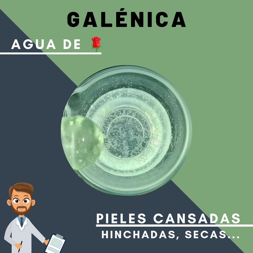 ALCANFOR + RESORCINA + AGUA DE ROSAS | PIERNAS CANSADAS
