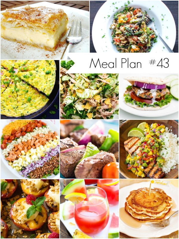 Weekl Meal Plan Recipes - Ioanna's Notebook