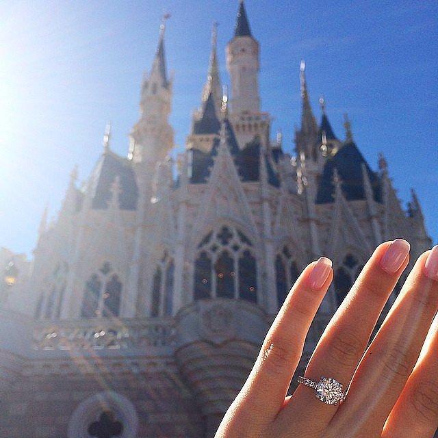 כוכב המחזמר התיכוני קורבין בלו הציע לחברתו סשה קלמנטס להינשא מול טירת סינדרלה בוולט דיסני וורלד שבאורלנדו, פלורידה