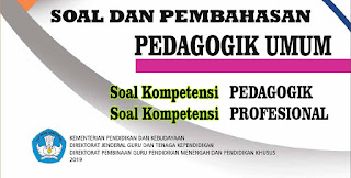 Soal UP PPG Pedagogik Umum Lengkap Pembahasan