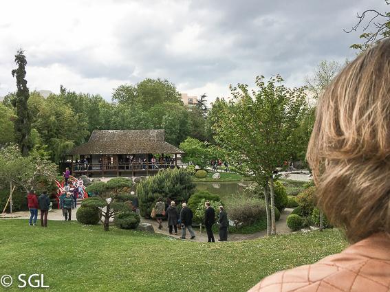 Jardin japones en Toulouse, la ciudad rosa francesa