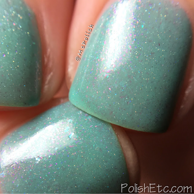 Awesome Sauce Indie Box: Life in Plastic - McPolish - Ever After Polish: Malibu Barbie