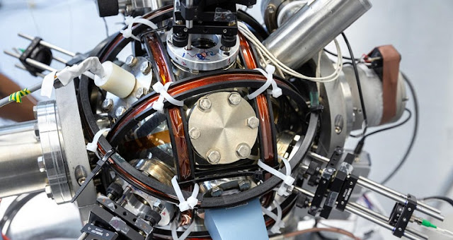 This is the atom interferometer. Credit: Imperial College London