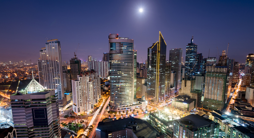 The Makati central business district (CBD)