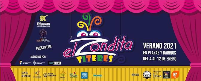 """""""El Zondita"""" Titeres: Cultura en cada rincón de San Rafael"""