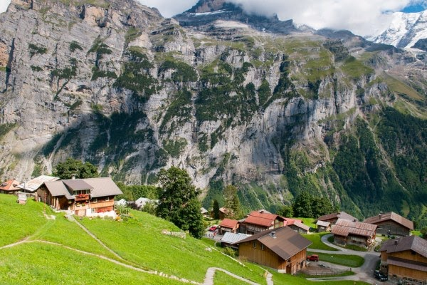 Gimmelwald, Bernese Oberland
