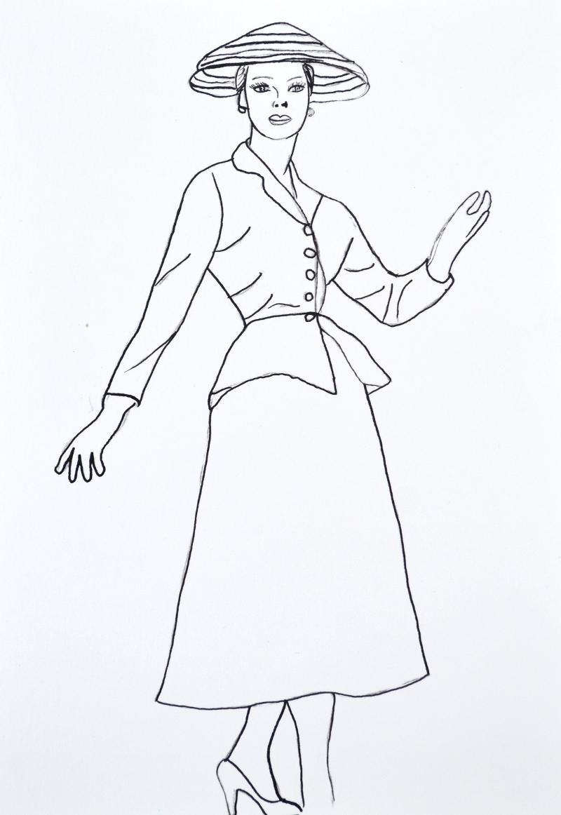 dessin dior
