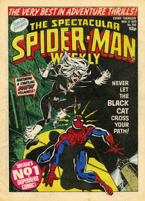 Spectacular Spider-Man #350, the Cat