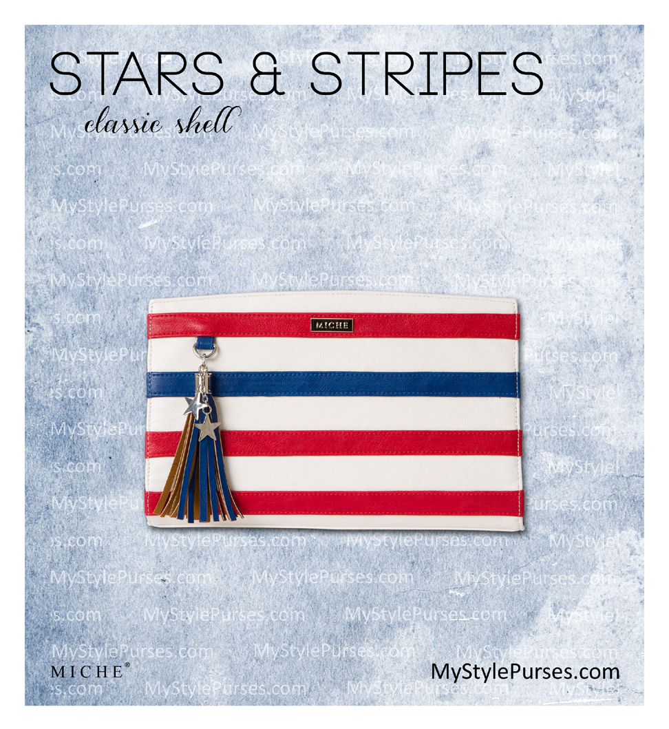 Miche Stars and Stripes Classic Shell | Shop MyStylePurses.com