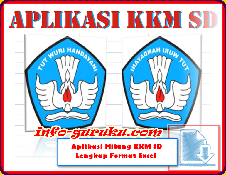 Aplikasi Hitung Kkm Sd Lengkap Format Excel Info Guruku