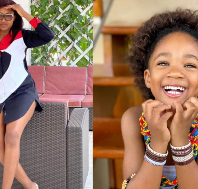 """Can't believe my baby is 4"""" - Nollywood Actress, Mary Njoku showers love on her daughter as she clocks age '4'"""