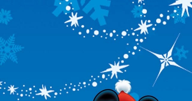 Mickey Mouse Christmas iPhone Wallpaper