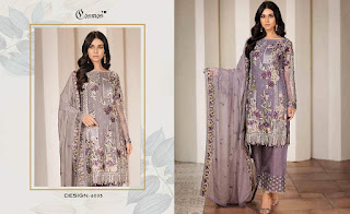 Cosmos Aayra vol 6 Georgette Pakistani Suits catalog