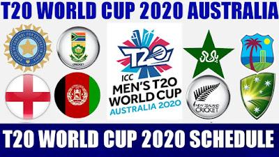 icc t20 world cup schedule