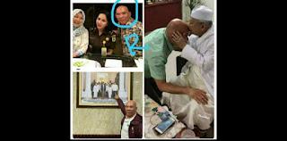 Makin Merembet, Beredar Foto Perantara Djoko Tjandra Bersama Wapres Maruf Amin